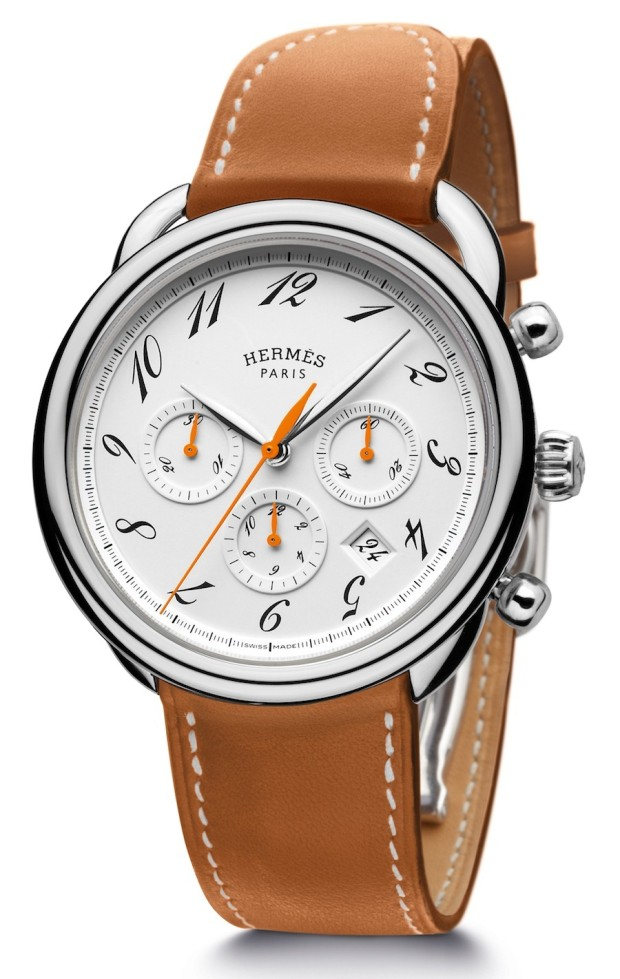 Hermès Arceau Chronograph Bridon Watch